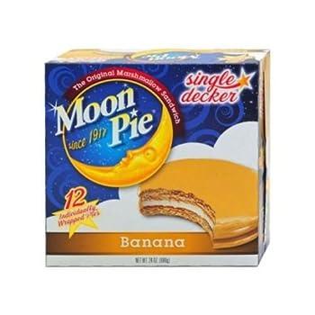 Original MoonPie Banana - 12 count box, 8 per case