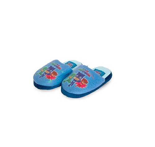 PJ MASKS - Zapatillas de Estar por casa de Material Sintético para niño Size: 23