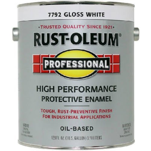RUST-OLEUM 242256 White Gloss Finish,