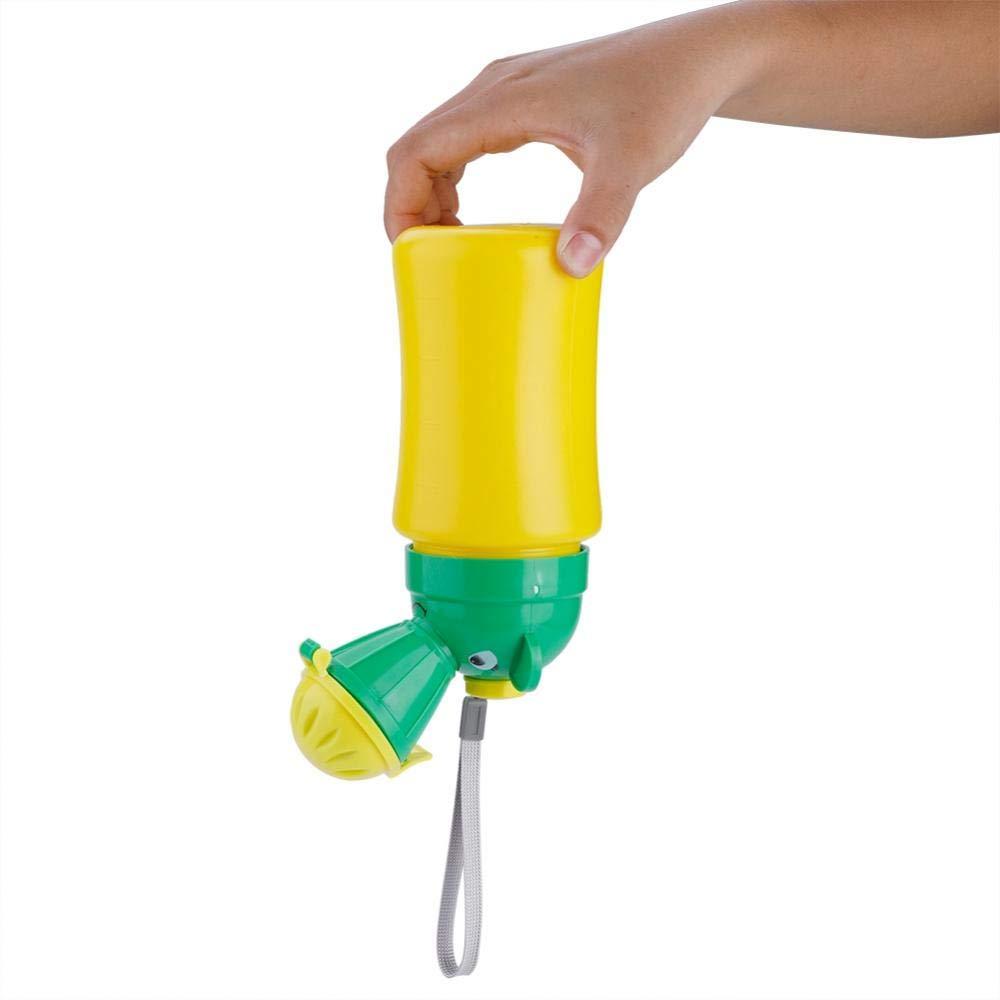 Enfant Potty Urinoir transportable pour outil de formation Pee Cute Pee Pot dalimentation pratique enfants Pee accessoire pour camping car Voyage