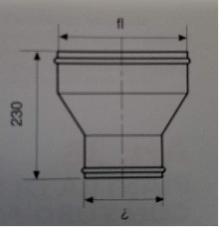 Raccord chaudi/ère chemin/ée en acier inoxydable femelle//femelle