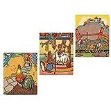 Best Cloud Nine Prints Toddler Girl Books - (Set of 3) Aesop's Fables Prints Review