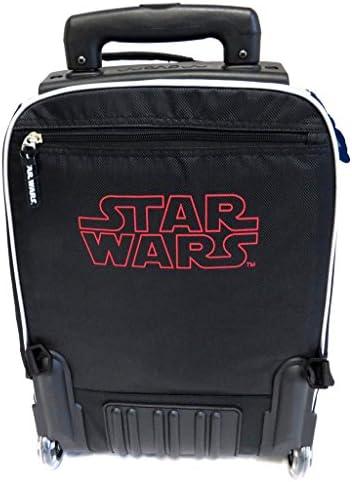 Scuola trolley 'Star Wars'blu nero (44x33x21 cm).