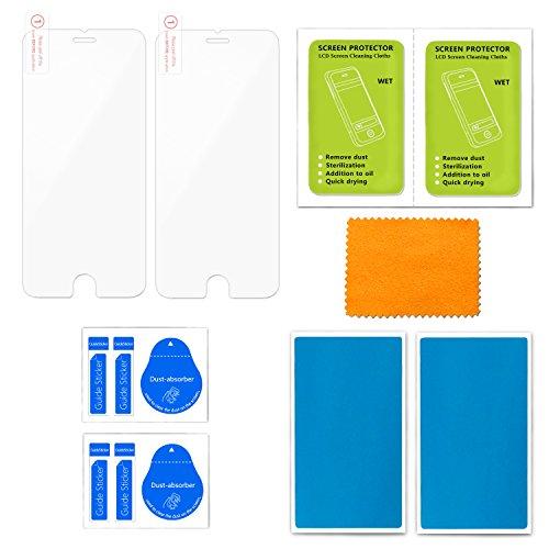 zenmo 2 pack Vetro Temperato iPhone SE, Pellicola Protettiva premium per iphone SE 5S 5C 5 (0.33mm HD Ultra Clear)