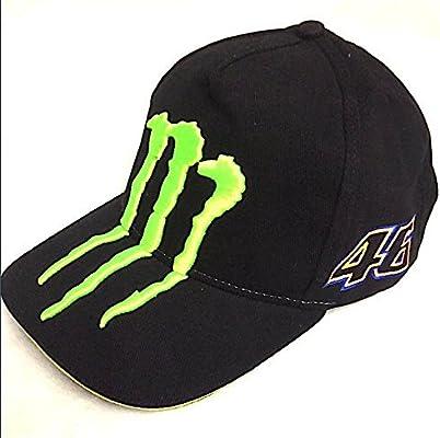 Gorra Monster Energy VR46 moto GP Gros Logo Vengador Fluo before ... 380106302c3