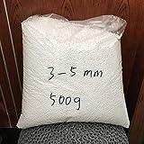 RubyShopUU Factory Wholesale 250g/500g White Foam Ballsbag Baby Filler Bed Sleeping Pillow Bean Bags Chair Sofa Beads Filler Styrofoam Ball