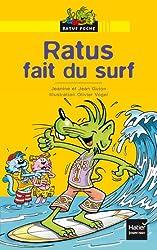 Ratus fait du surf