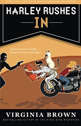 book cover of Harley Rushes In