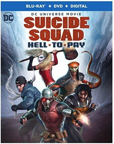 Dcu  Suicide Squad  Hell To Pay  Bd   Blu Ray