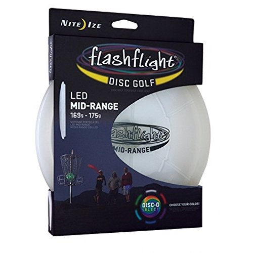 Nite Ize Flashflight Disc Golf Light Up LED Mid-Range 169-175g