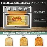 COSTWAY Toaster Oven Countertop, 7-in-1