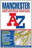 A-Z Manchester by Geographers' A-Z Map Company front cover