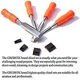 GREBSTK Professional Wood Chisel Tool Sets Sturdy