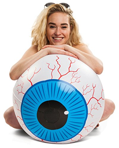 BigMouth Inc Giant Eyeball Beach Ball, Fun Summer Pool Toy]()