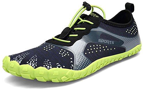Grün Atmungsaktiv Barfußschuhe 3 Farben Fitnessschuhe Wasserschuhe EU Unisex Rutschfest SEECEE 46 36 O7wxnPq