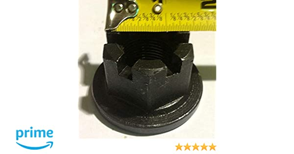 """Rotary Cutter Gearbox Flanged Castle Nut 1/""""-14 thread 11-008 P//N 120050"""