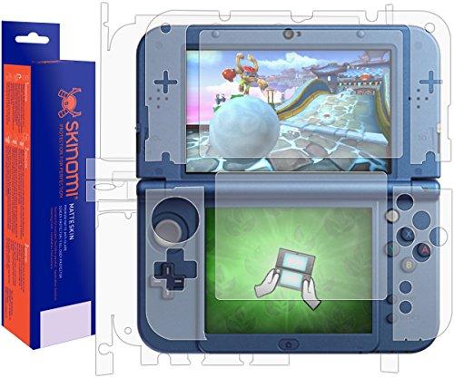 Nintendo 3DS XL Screen Protector + Full Body (Nintendo 3DS LL,2015), Skinomi MatteSkin Full Skin Coverage + Screen Protector for Nintendo 3DS XL Anti-Glare and Bubble-Free Shield -