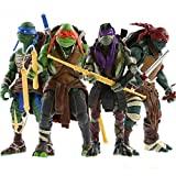FiraDesign 2014 Hot 4pcs/Lot Teenage Mutant 5'' Action Figure TMN Turtle Toys