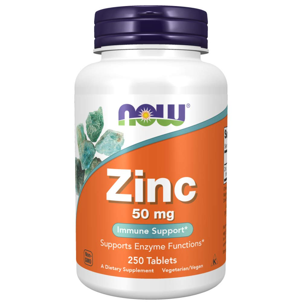 NOW Foods Zinc Gluconate, 250-Count