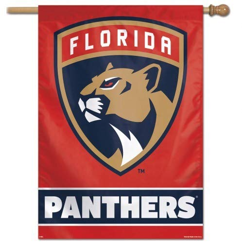 27x37 Vertical Banner - Wincraft Florida Panthers Vertical Flag: 27x37 Banner