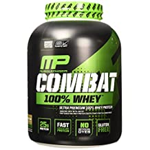 Musclepharm Combat 100-Percent Whey Protein Powder, Cappuccino, 5 lb