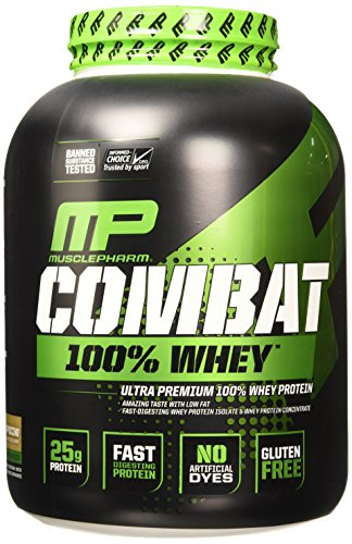 MusclePharm Combat Protein Powder Cappuccino product image