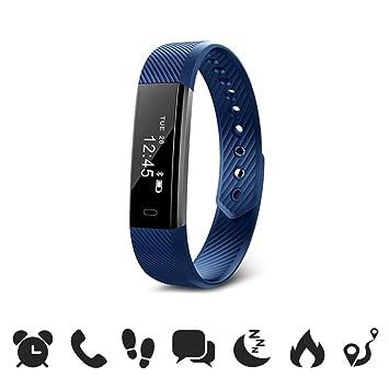 endubro W33/ID115 - Bracelet Fitness / Fitness Tracker / Smart Bracelet / Montre connectée avec écran tactile OLED et ...