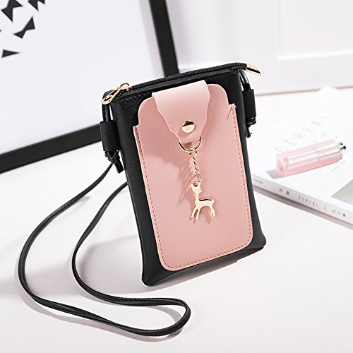 Bag Crossbody Coin Pouch WDOIT Small Phone Mini Bag Bags Purse Phone Pocket Shoulder 1PCS Personality qUOxOwzX