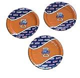 NCAA University Of Illinois Fighting Illini Tailgate Party Plates (24)