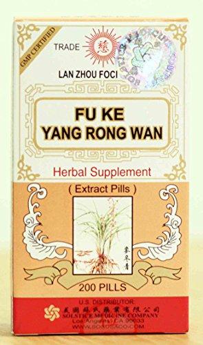 Solstice Fu Ke Yang Rong Wan Herbal Supplement (200 (Yang Rong Wan)