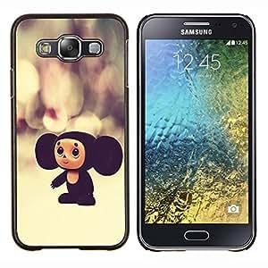 TECHCASE---Cubierta de la caja de protección para la piel dura ** Samsung Galaxy E5 E500 ** --Rusia personaje de dibujos animados juguete grande Orejas 3D