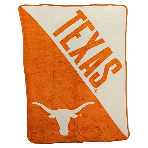 The Northwest Company NCAA Collegiate Half Tone Super Soft Plush Throw Blanket (Texas Longhorns)