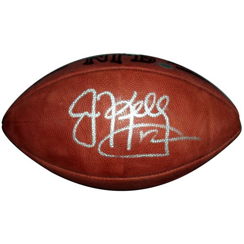 Jim Kelly Autographed NFL Game Football Autographed Nfl Game Football