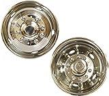 "19.5"" Ford 450 550 05~17 Stainless Steel Wheel Simulator Dually rim liner skin"