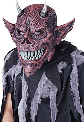 California Costumes Men's ANI-Motion MASK, Devil's Feast, One Size