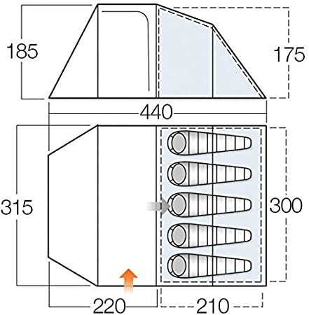 Vango Skye 500 Tent