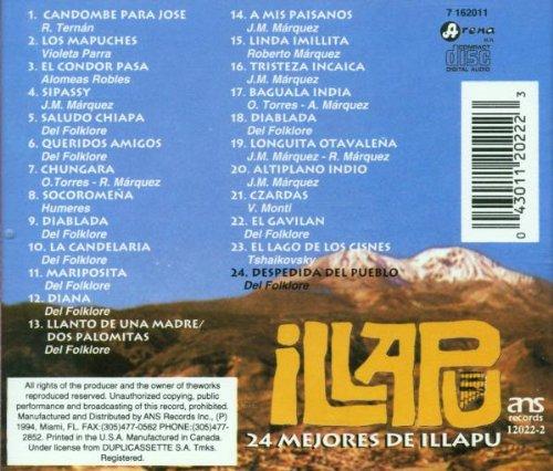 24 Mejores De Illapu by Ans Records