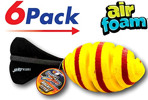 Foam Football Rocket (Pack of 6) by 2CHILL | Air Rocket Football | Item #2308-6 by 2CHILL