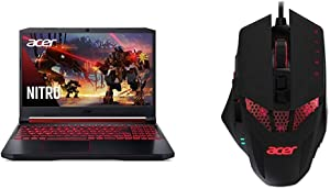 Acer Nitro 5 Gaming Laptop, 9th Gen Intel Core i7-9750H with Acer Nitro Gaming Mouse