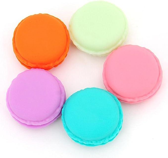 hunpta 6 pieza Mini auriculares tarjeta SD Macarons funda Caja Caja de almacenamiento, llevar bolsa: Amazon.es: Electrónica
