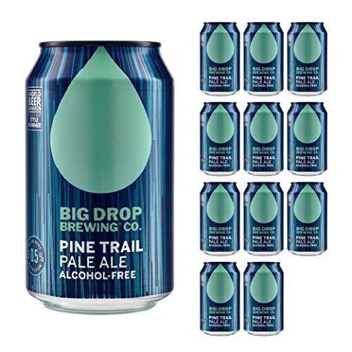 Big Drop Brewing Co Pale Ale Can 330 ml,Pack of 12