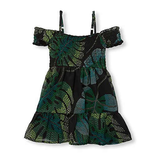 The Children's Place Baby Girls Sleeveless Casual Dresses, Black 00415, ()