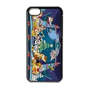 [bestdisigncase] For Iphone 5c -Disney All Charators,All Princess disney charators PHONE CASE 13