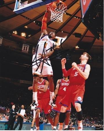 Autographed Amare Stoudemire Photograph - 8x10 - Beckett Authentication - Autographed NBA Photos