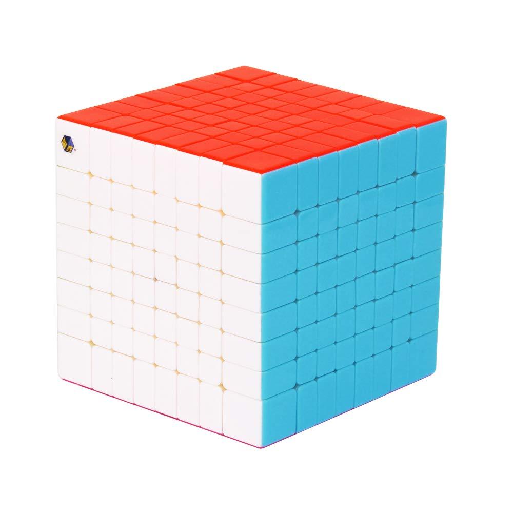 LCDP Rubik's Cube Version Hochpräziser Magnet zur Positionierung hochwertiger Würfel, Wettkampfschule Schüler ABS-Konstruktionskunststoff 7  7 8  8 9  9 10  10 11  11,8  8  88
