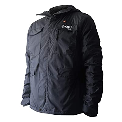 Dragon Heatwear Shift Mens 5 Zone Heated Snowboard Jacket: Clothing