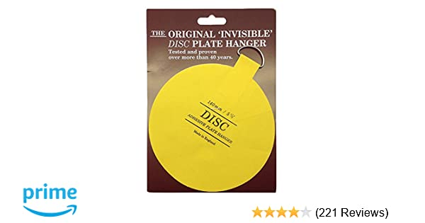 Flatirons Disc Adhesive Plate Hanger 5.5-Inch - Plate Hooks ... Flatirons Disc Adhesive Plate Hanger 5 5 Inch Plate Hooks  sc 1 st  Best Image Engine & Scintillating Disk Adhesive Plate Hangers Gallery - Best Image ...