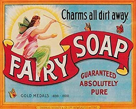 LilithCroft99 Fairy Soap Advertisement Metal Signs Vintage Retro Man Cave Garage Pub Shabby Chic Metal Tin Sign
