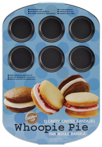 New - Whoopie Pie Pan-12 Cavity Round by Wilton