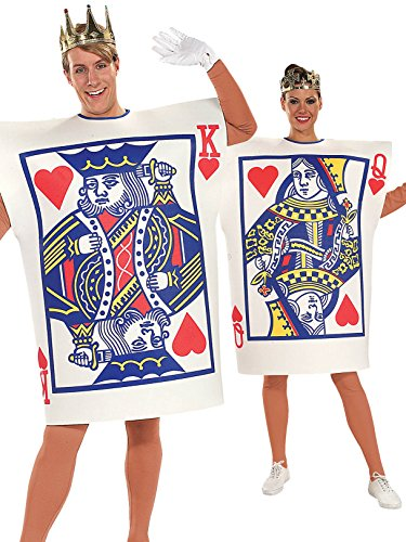 Rubie's King and Queen of Hearts Adult Costume -